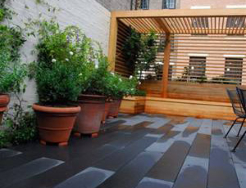 Private Residence Rooftop Patio in NYC